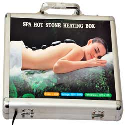 spa hot stone heating box