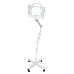 standing facial magnifying lamp
