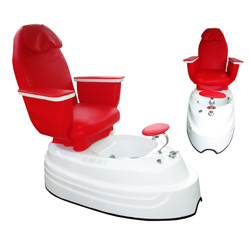 glorious pedicure seat with massage