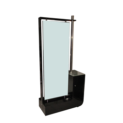 double face salon mirror