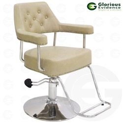 salon chair yl376 (brown)