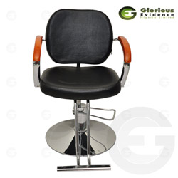 styling chair h7007 (black)