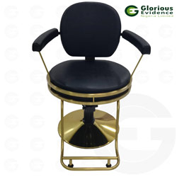 golden base salon chair