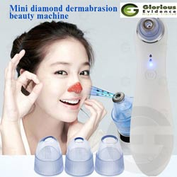 portable diamond peeling facial pore cleanser