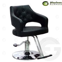salon chair y217 (black)