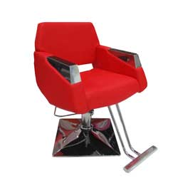 salon chair 113 (red)