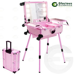 mobile makeup stand with mp3