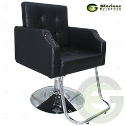 salon chair y176 (black)