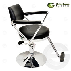 salon chair y151 (black)