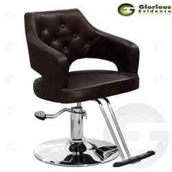 salon chair y217 (brown)